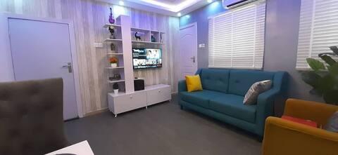 1 Bedroom Entire APT/ Kitchen/24/7 Power/Wifi