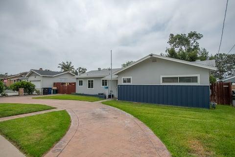 Exclusiva casa de 3 dormitorios y 1,5 en el centro de Chula Vista