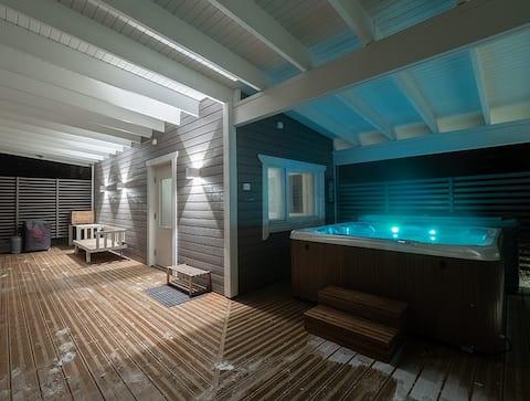Kukonhiekka Vibes - Increíble sauna con jacuzzi