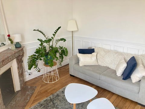 Apartment 2 min from the train station, Paris Disney access