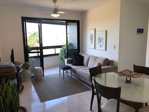 Quarto em apartamento acolhedor em Jardim da Penha