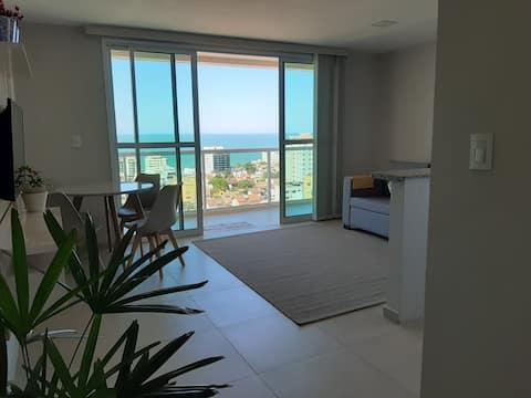 Seaview apartment on the Riviera Fluminense