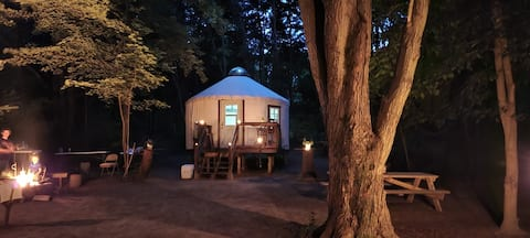 The Yurt at Havenswood