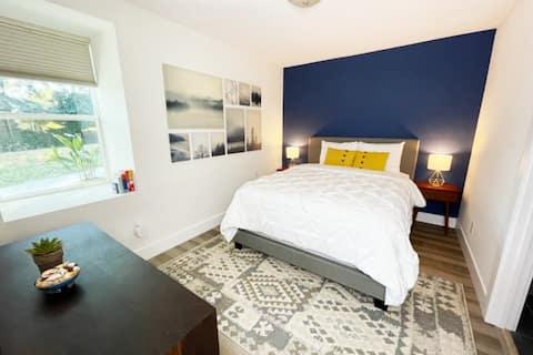 NUEVA y acogedora, moderna y céntrica suite de 1 dormitorio
