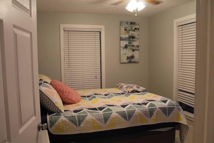 Upstairs guest bedroom.