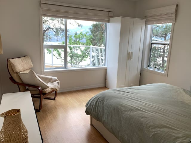 ensuite bedroom #2. bright, spacious