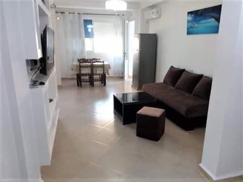 Appartement calme et chaleureux.