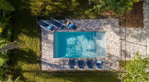 Vilano BeachHouse *Piscina climatizada * ¡NOVEDAD! 10 plazas