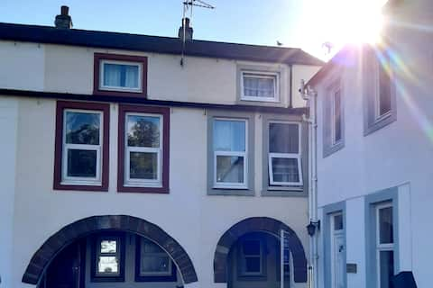 Cosy townhouse in heart of a Cumbrian market town.