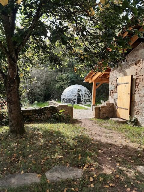 Charmante maison de campagne avec spa et terrain