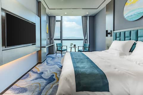 【橙烨】一线海景大床房  全海景开门即是大海/豪华装修