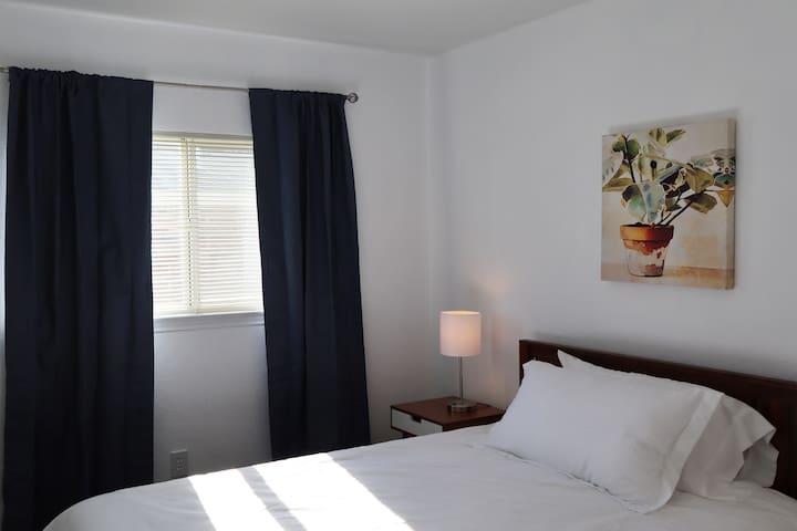 Queen Size bed Guest Bedroom