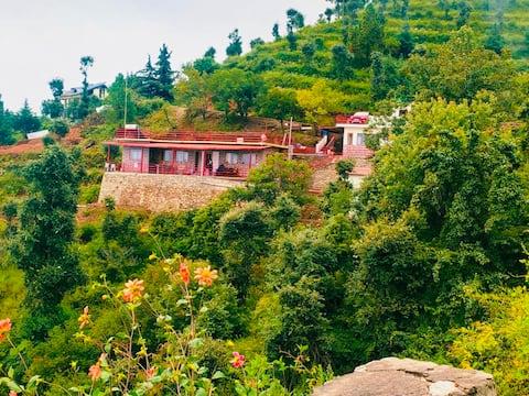 Shantivan, a peaceful 5-bedroom cottage