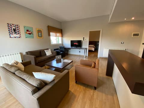 Relaxing 1-bedroom apartment in Ehden Country Club