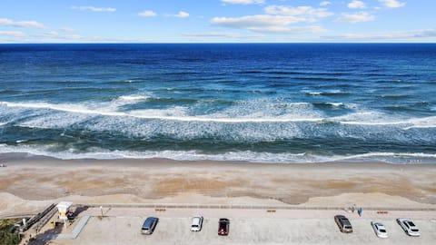 Top Floor Oceanfront Beach Condo Large Balcony