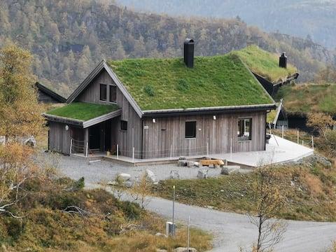 Gezellig en modern huisje in de bergen