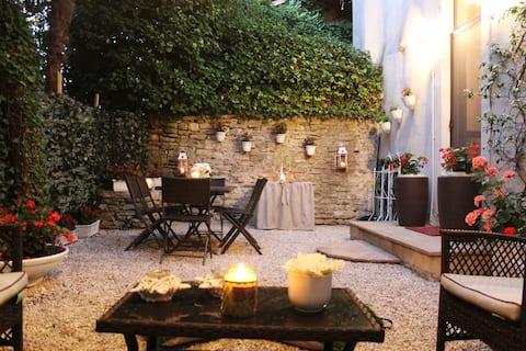 Spoleto, un giardino in centro storico