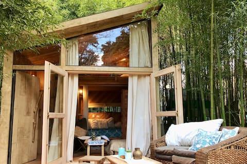 Tiny House. Arte y Naturaleza en Canning, Ezeiza.