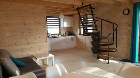 """""""Słowińskie widoki"""" New, wooden Natura house"""