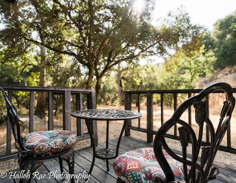 Carmel Valley's Little Cottage by the Creek