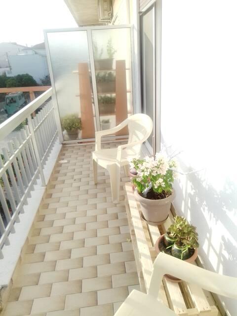 Άνετο φωτεινό διαμέρισμα σε ήσυχη περιοχή