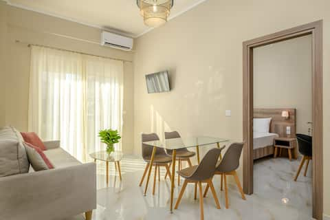 Orea Homes | Superior two-bedroom family apartment with garden 52m2