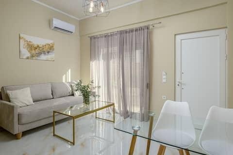 Orea Homes Elegant family apartment with yard 40m2