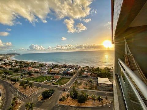 Barcane Flat - Que Vista!!! Ap Ponta Negra