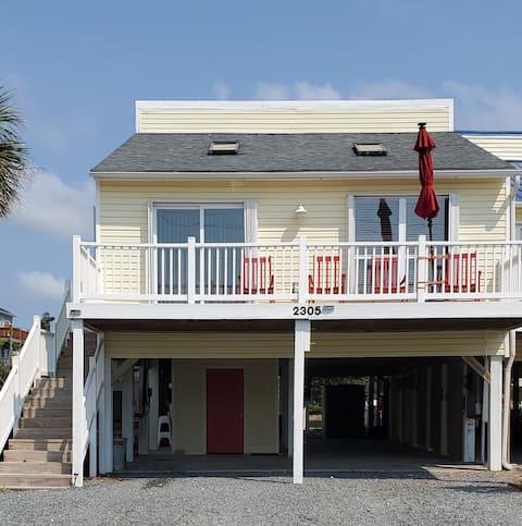 "Cheerful Beach Cottage.  ""The Getaway""."