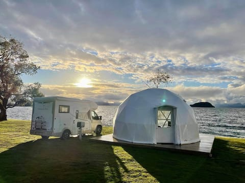 Lakefront Glamping Dome