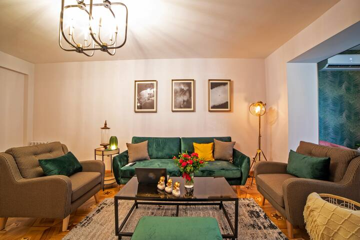 Living room - nice space to watch movie or read your favorite book.
