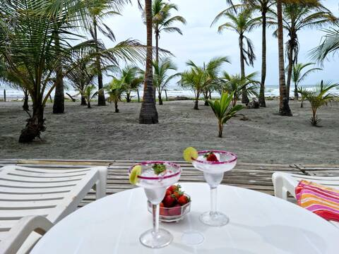 El Palmar: Exquisite and comfortable beach house.