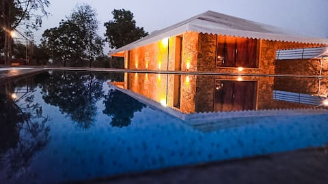 A place where luxury amenities meets exotic nature