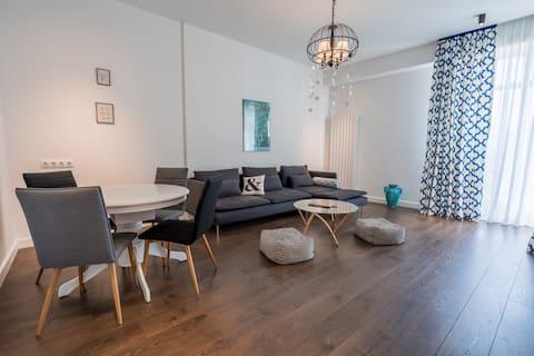 Bright and cozy apartment in Bagebi, Vake