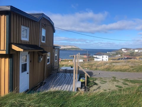 Cozy house overlooking the harbour