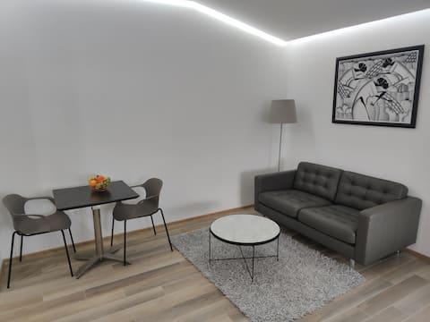 Schönes Apartment mit Küche und modernem Bad