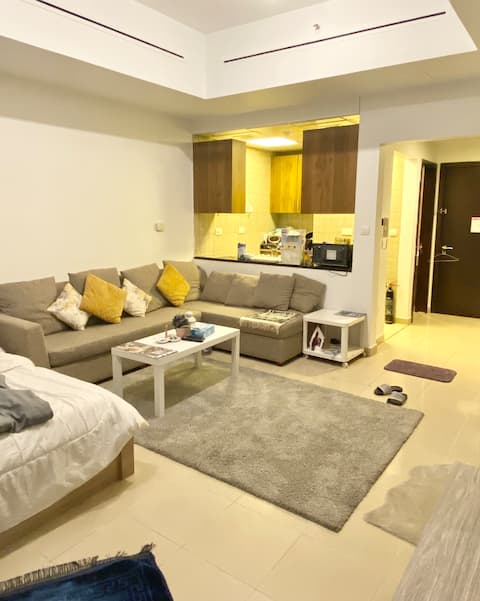 Large Newly furnished studio for small family