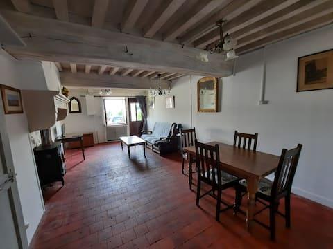 Maison de village au coeur de la Bourgogne