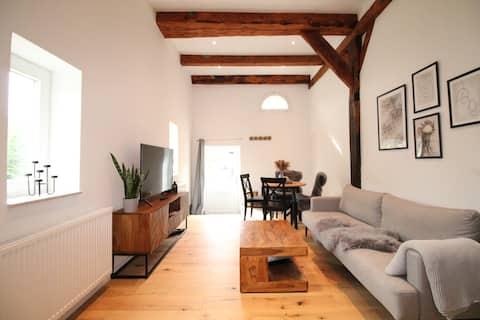 Stilvoll eingerichtete Landhauswohnung