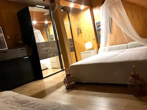 Komfortowy 3-osobowy pokój z łazienką. Parking