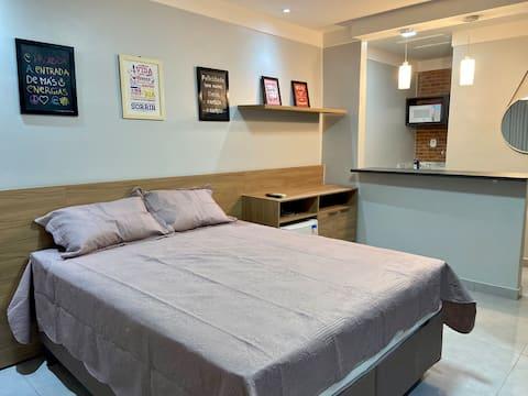 Apartamento Studio, Bairro Central de Macapá.