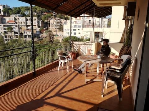 Appartement avec 2 chambres et une vue étonnante