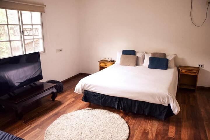 Habitación con baño en suite para 2 o 3 personas