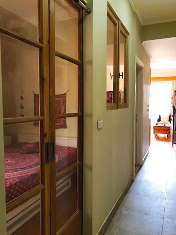 Your orginial upcycled antique bedroom door!