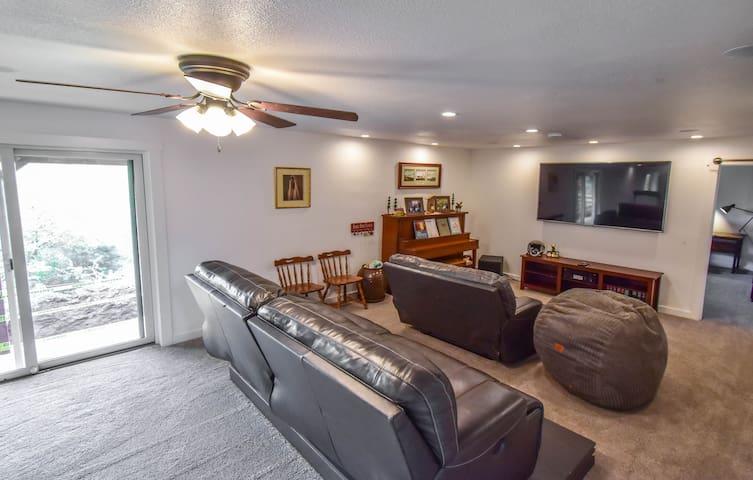 Right half of family room