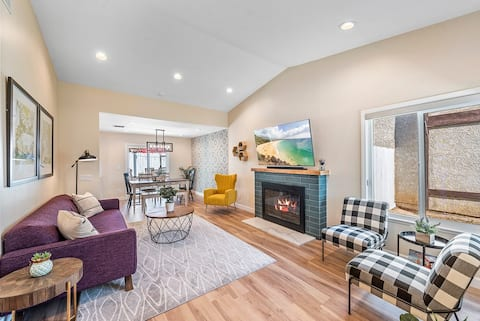 Newly remodeled cozy home near Ontario Airport