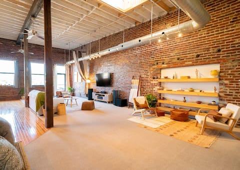 Modern Arts District Loft w/ Huge Private Patio