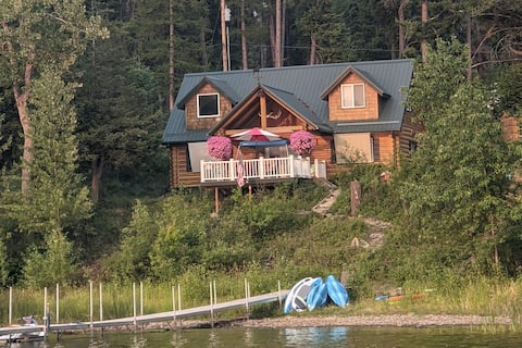 Cozy 2 Bedroom Cabin with Lake Views
