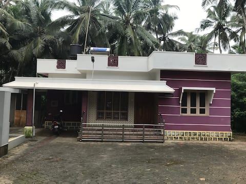 An independent 2BHK with free parking space.