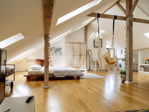 Artistic loft in the Old Town